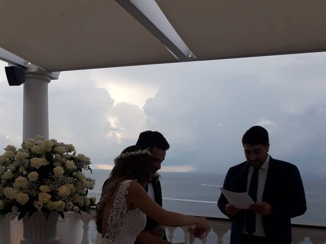 Il matrimonio di Carine e Roberto a Sant'Agnello, Napoli 1