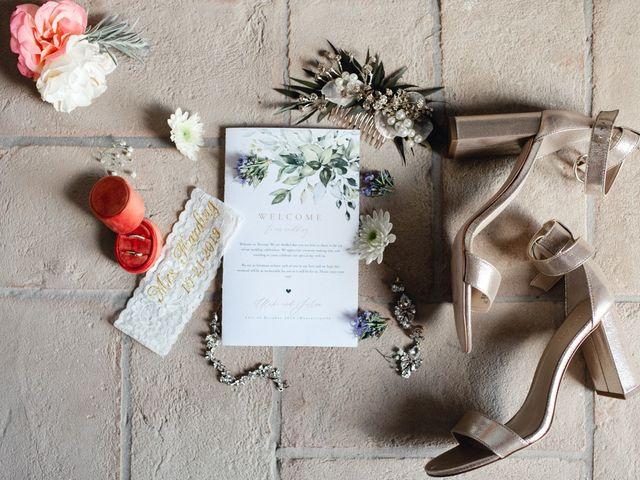 Il matrimonio di Joshua e Ulrike a Chiusdino, Siena 2