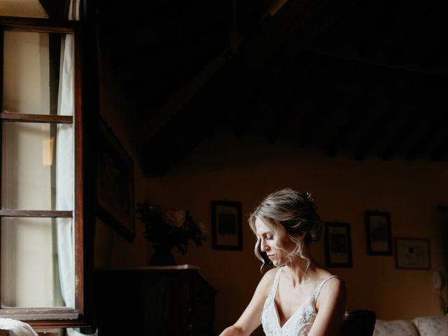Il matrimonio di Joshua e Ulrike a Chiusdino, Siena 15