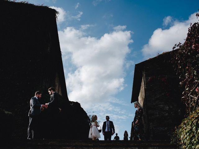 Il matrimonio di Joshua e Ulrike a Chiusdino, Siena 22