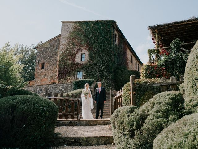 Il matrimonio di Joshua e Ulrike a Chiusdino, Siena 24