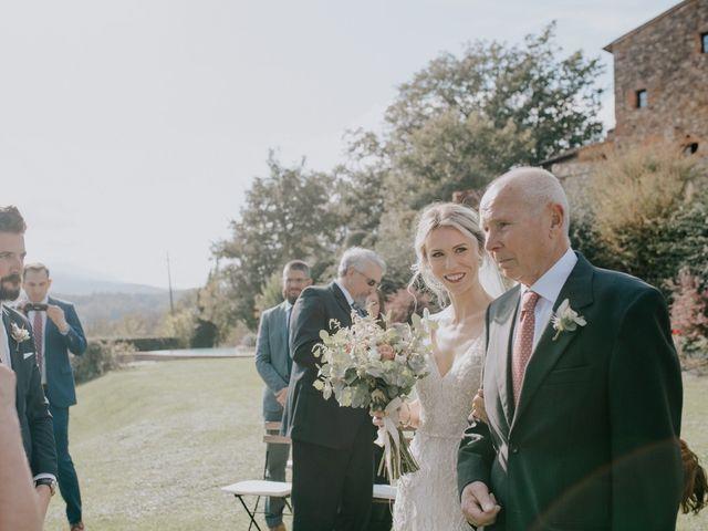 Il matrimonio di Joshua e Ulrike a Chiusdino, Siena 26