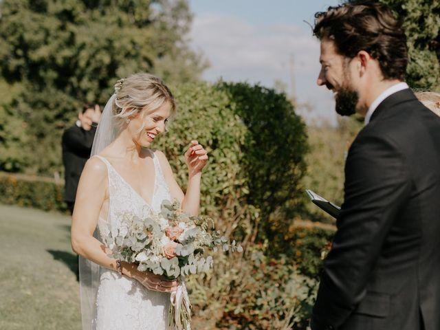 Il matrimonio di Joshua e Ulrike a Chiusdino, Siena 30