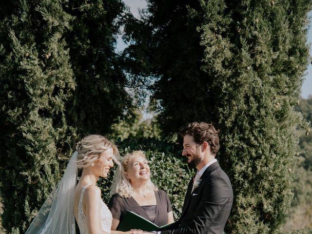 Il matrimonio di Joshua e Ulrike a Chiusdino, Siena 31