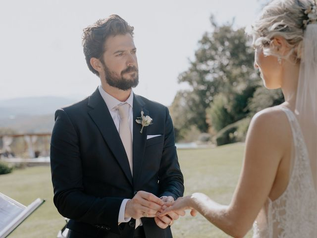 Il matrimonio di Joshua e Ulrike a Chiusdino, Siena 34