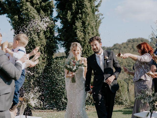 Il matrimonio di Joshua e Ulrike a Chiusdino, Siena 37