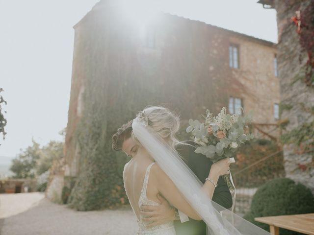 Il matrimonio di Joshua e Ulrike a Chiusdino, Siena 39