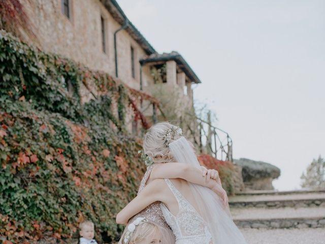 Il matrimonio di Joshua e Ulrike a Chiusdino, Siena 40