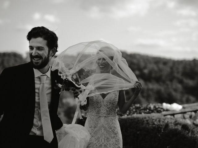 Il matrimonio di Joshua e Ulrike a Chiusdino, Siena 43