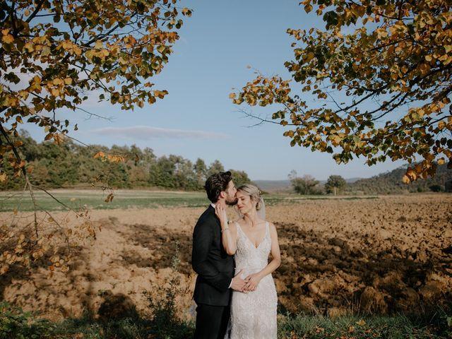 Il matrimonio di Joshua e Ulrike a Chiusdino, Siena 44