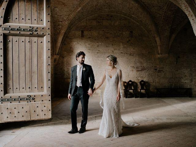 Il matrimonio di Joshua e Ulrike a Chiusdino, Siena 45