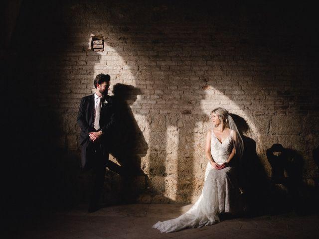 Il matrimonio di Joshua e Ulrike a Chiusdino, Siena 47
