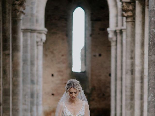 Il matrimonio di Joshua e Ulrike a Chiusdino, Siena 50