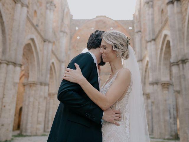 Il matrimonio di Joshua e Ulrike a Chiusdino, Siena 51