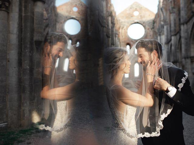 Il matrimonio di Joshua e Ulrike a Chiusdino, Siena 56