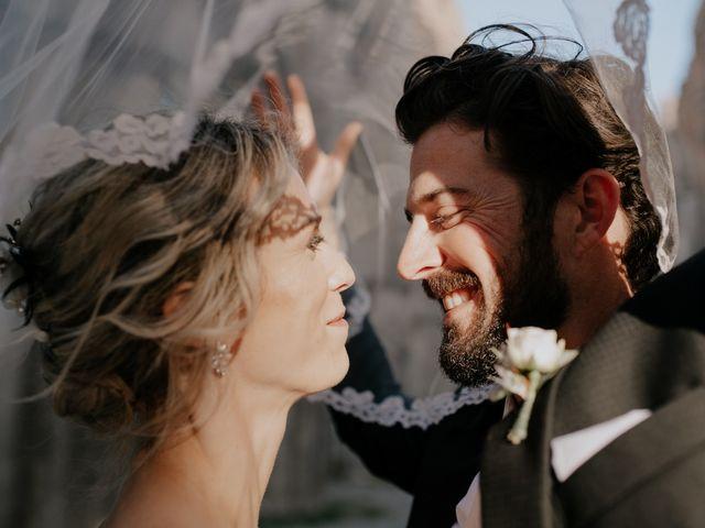 Il matrimonio di Joshua e Ulrike a Chiusdino, Siena 57
