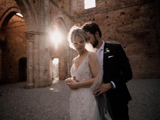 Il matrimonio di Joshua e Ulrike a Chiusdino, Siena 58