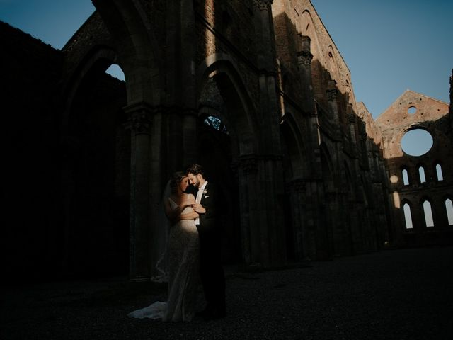 Il matrimonio di Joshua e Ulrike a Chiusdino, Siena 59