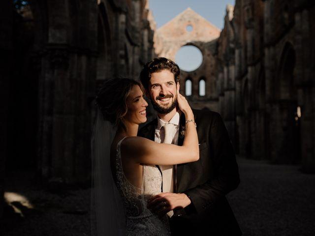 Il matrimonio di Joshua e Ulrike a Chiusdino, Siena 61