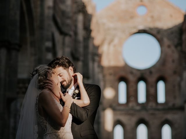 Il matrimonio di Joshua e Ulrike a Chiusdino, Siena 62