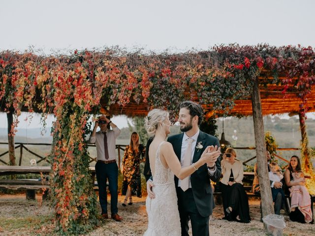 Il matrimonio di Joshua e Ulrike a Chiusdino, Siena 74