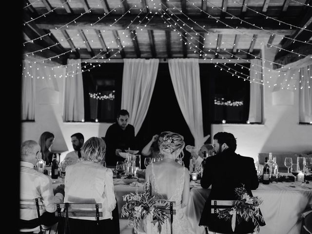 Il matrimonio di Joshua e Ulrike a Chiusdino, Siena 82