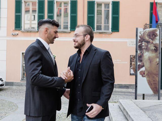 Il matrimonio di Lucio e Kristina a Varese, Varese 25