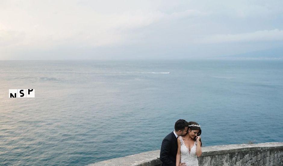 Il matrimonio di Carine e Roberto a Sant'Agnello, Napoli