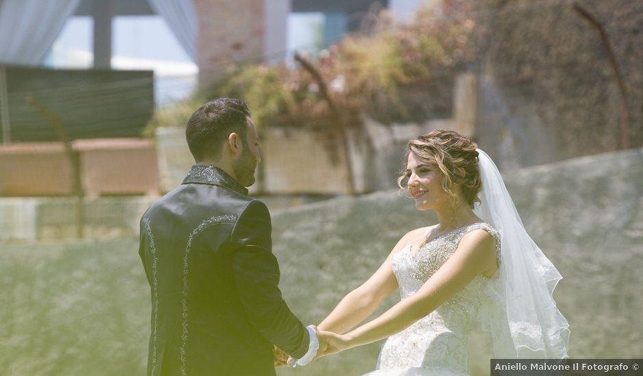 Il matrimonio di Antonio e Eleonora a Boscotrecase, Napoli