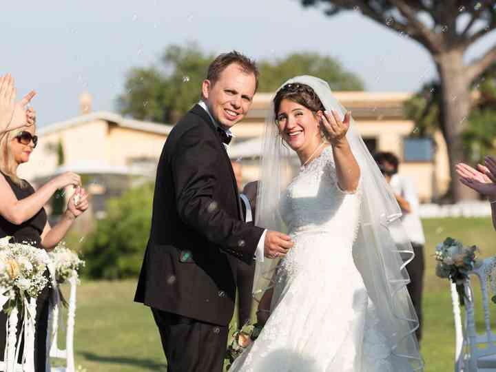 le nozze di Fidelma e Luca