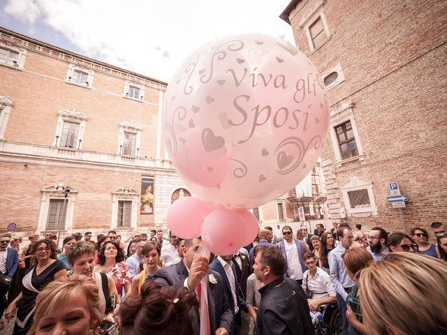 Il matrimonio di Massimo e Valentina a Osimo, Ancona 23