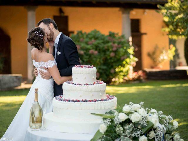 Il matrimonio di Alessandro e Elisa a Certosa di Pavia, Pavia 1