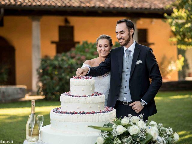 Il matrimonio di Alessandro e Elisa a Certosa di Pavia, Pavia 24