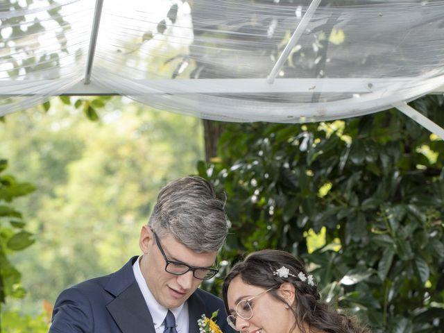Il matrimonio di Matteo e Valeria a Barengo, Novara 20