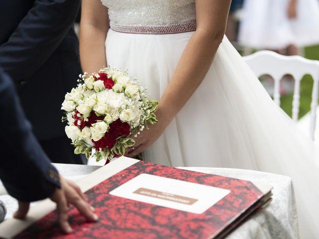 Il matrimonio di Domenico e Sabrina a Moscazzano, Cremona 19