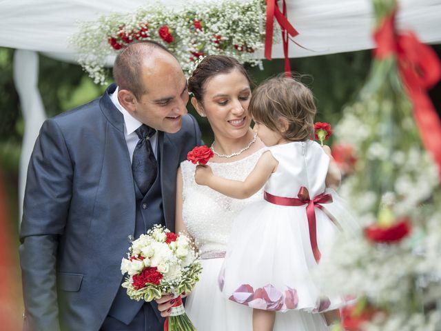Il matrimonio di Domenico e Sabrina a Moscazzano, Cremona 30