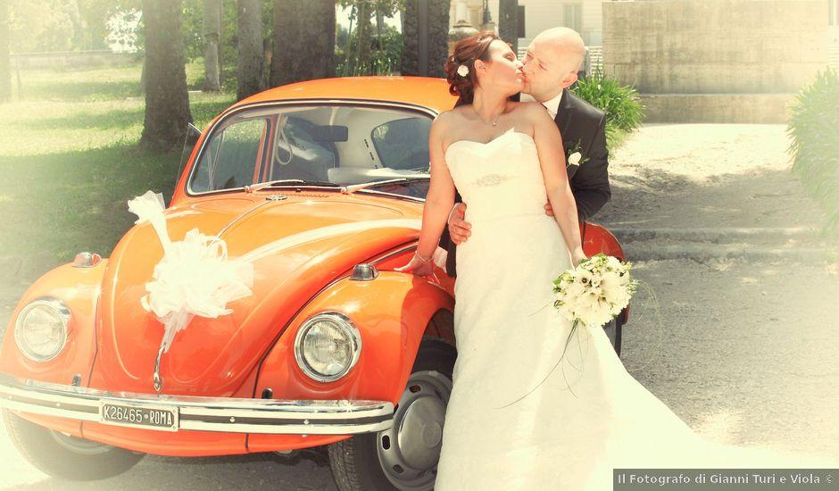 Il matrimonio di Daniele e Erica a Roma, Roma