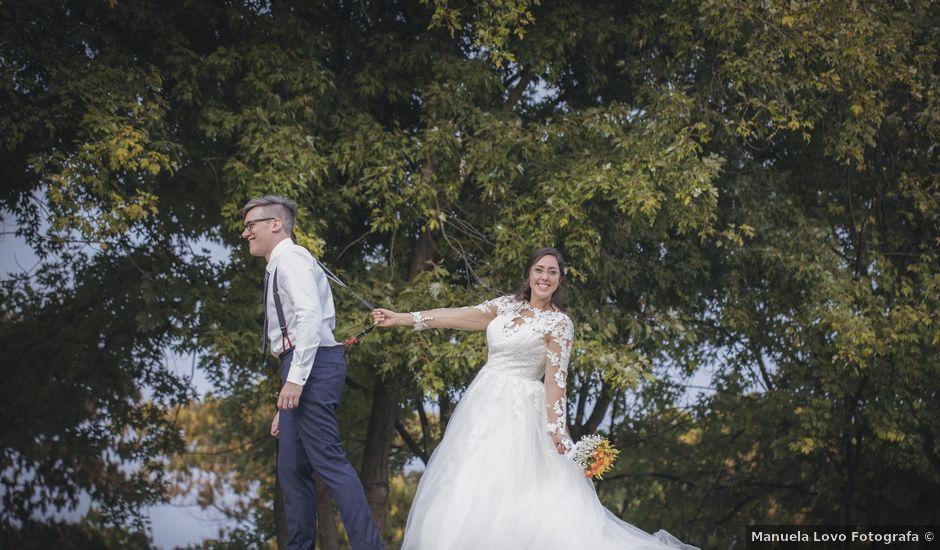 Il matrimonio di Matteo e Valeria a Barengo, Novara