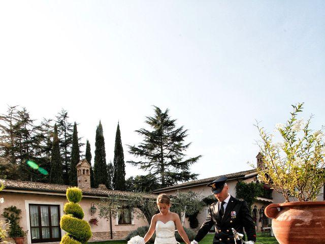 Il matrimonio di sebastiano e daniela a Monterotondo, Roma 14