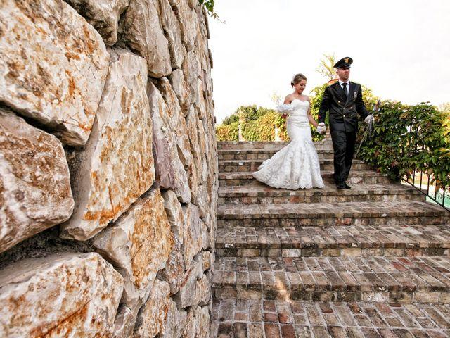 Il matrimonio di sebastiano e daniela a Monterotondo, Roma 15