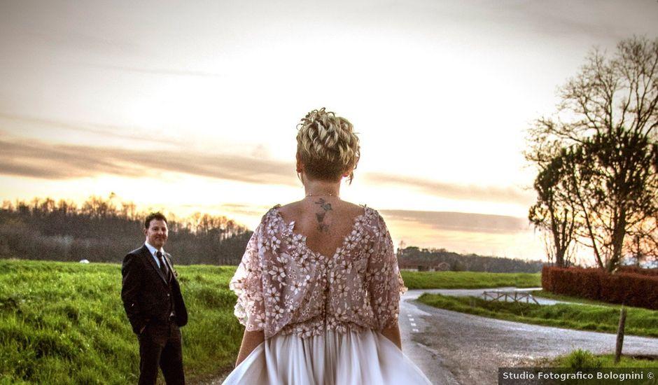 Il matrimonio di Emiliano e Giulia a Quarrata, Pistoia