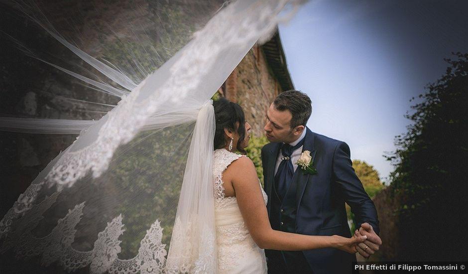Il matrimonio di Andrea e Patricia a Piegaro, Perugia
