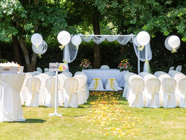 Il matrimonio di Alessio e Alessia a Barengo, Novara 13