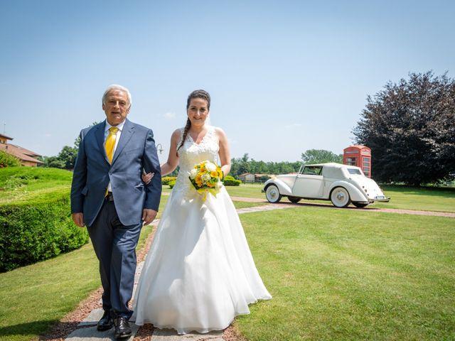 Il matrimonio di Alessio e Alessia a Barengo, Novara 17