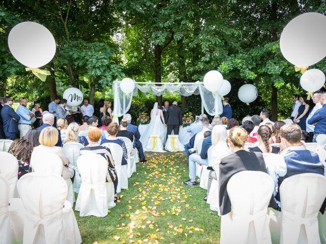 Il matrimonio di Alessio e Alessia a Barengo, Novara 19