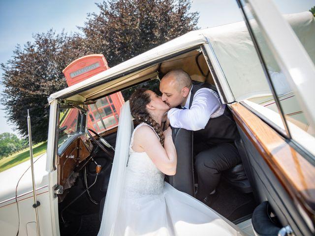 Il matrimonio di Alessio e Alessia a Barengo, Novara 23