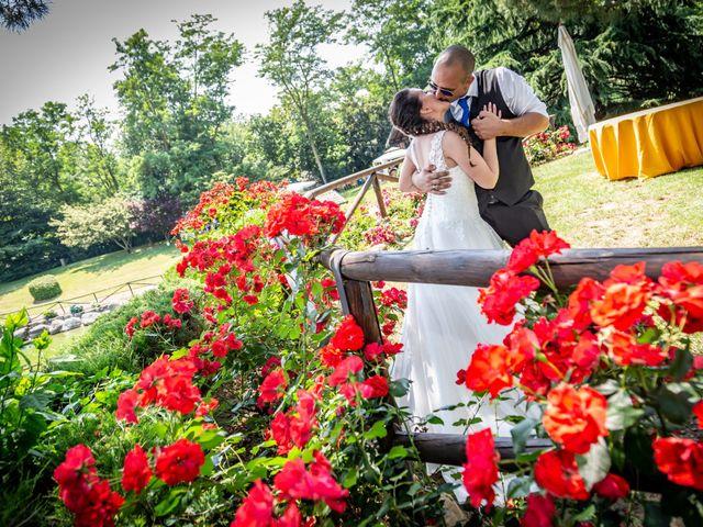 Il matrimonio di Alessio e Alessia a Barengo, Novara 26
