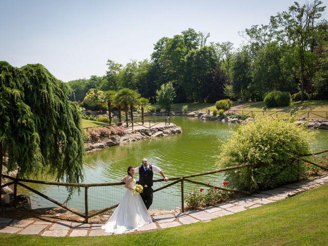 Il matrimonio di Alessio e Alessia a Barengo, Novara 28