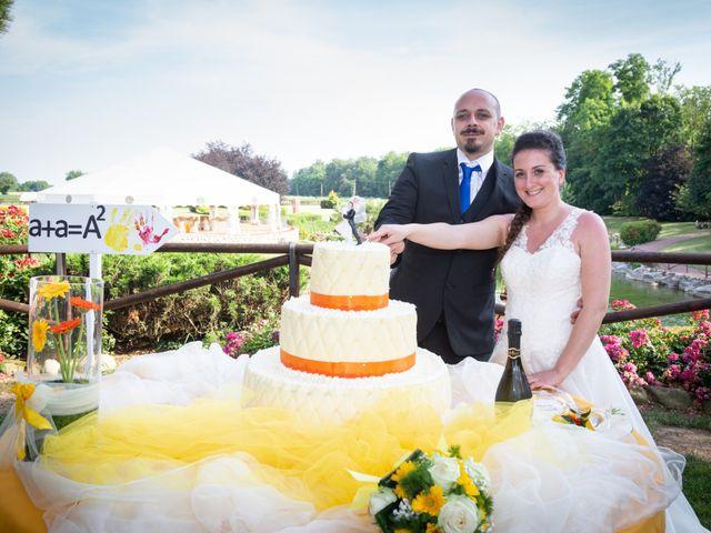 Il matrimonio di Alessio e Alessia a Barengo, Novara 33