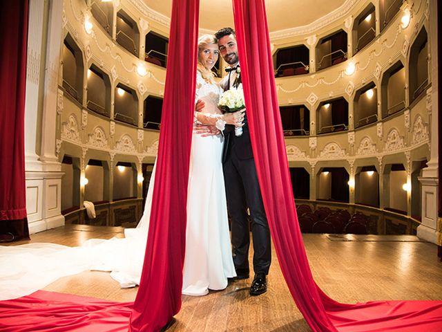 le nozze di Federica e Leonardo